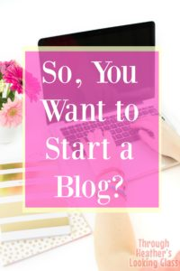 5 tips for starting a blog
