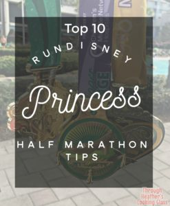 runDisney princess half tips