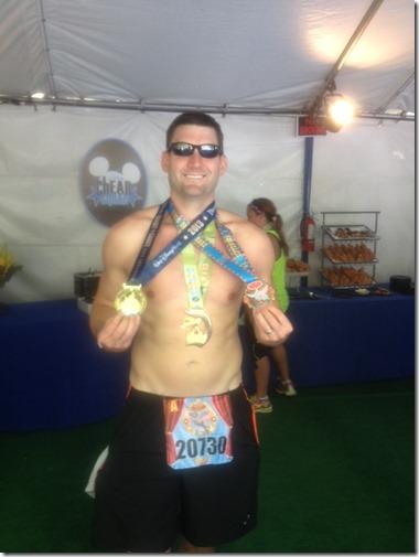 runDisney dumbo medals