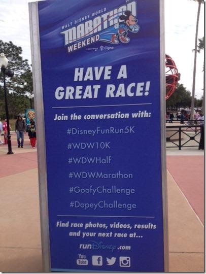 marathon hashtags