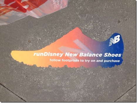 newbalance signage