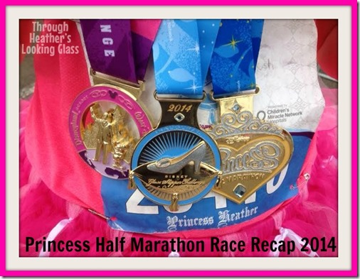 princess half recap