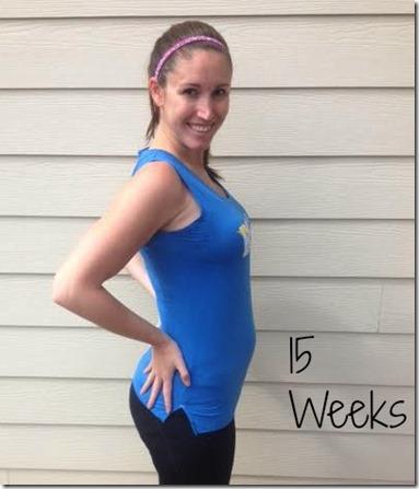 15weeks bump
