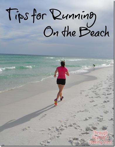 tips running beach