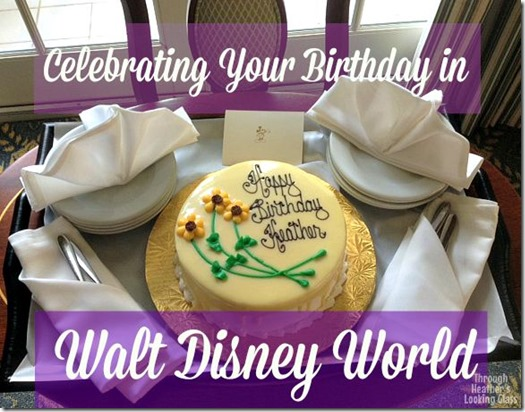 Disney birthday celebration