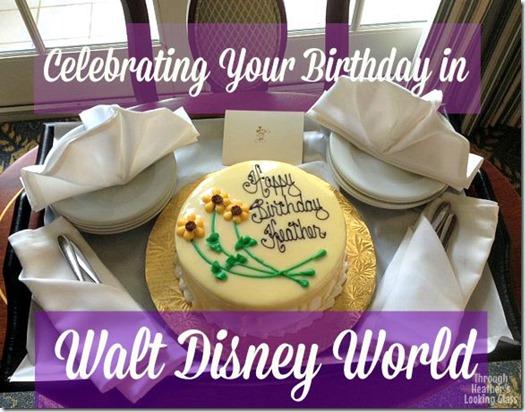 Disney birthday celebration