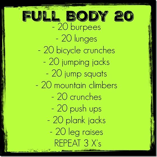 full body 20
