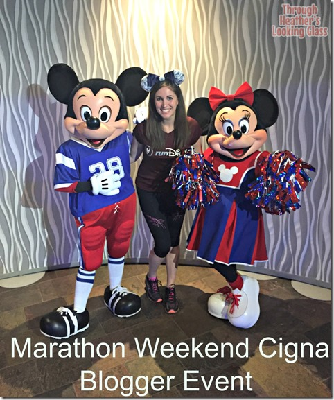 runDisney cigna blogger event