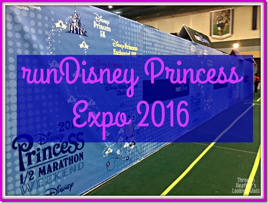 runDisney princess half expo