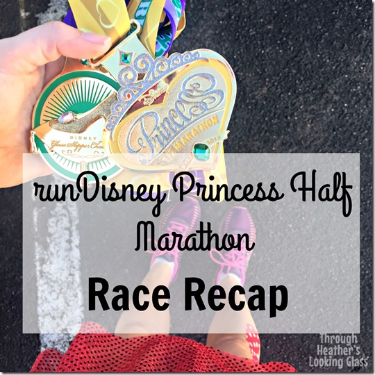 runDisney princess half race recap