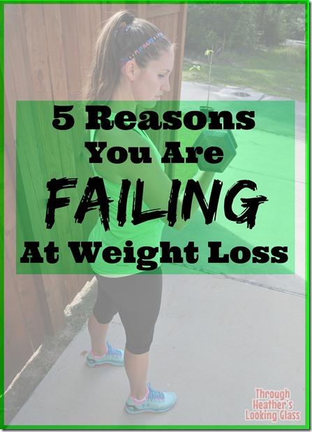 Failing at Weight Loss