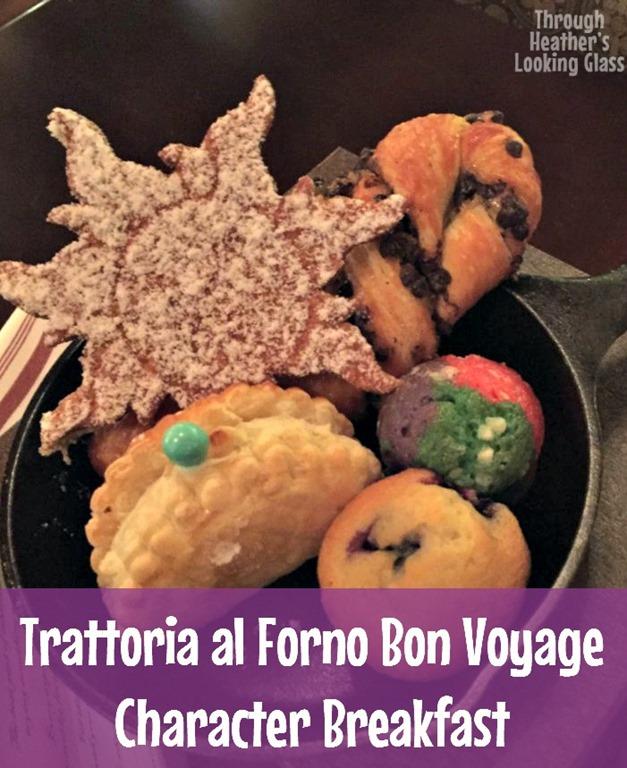 Trattoria Al Forno Bon Voyage Character Breakfast