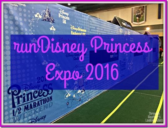 runDisney princess half expo