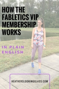 How the Fabletics VIP membership works and how you can get two pair of leggings for $24!
